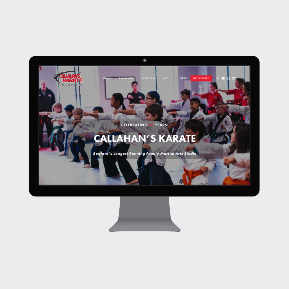 Callahan's Karate move from out of date Wordpress site to Squarespace Website for Small Businesses Boston MA Beth Grey Barn Media Venuti.png