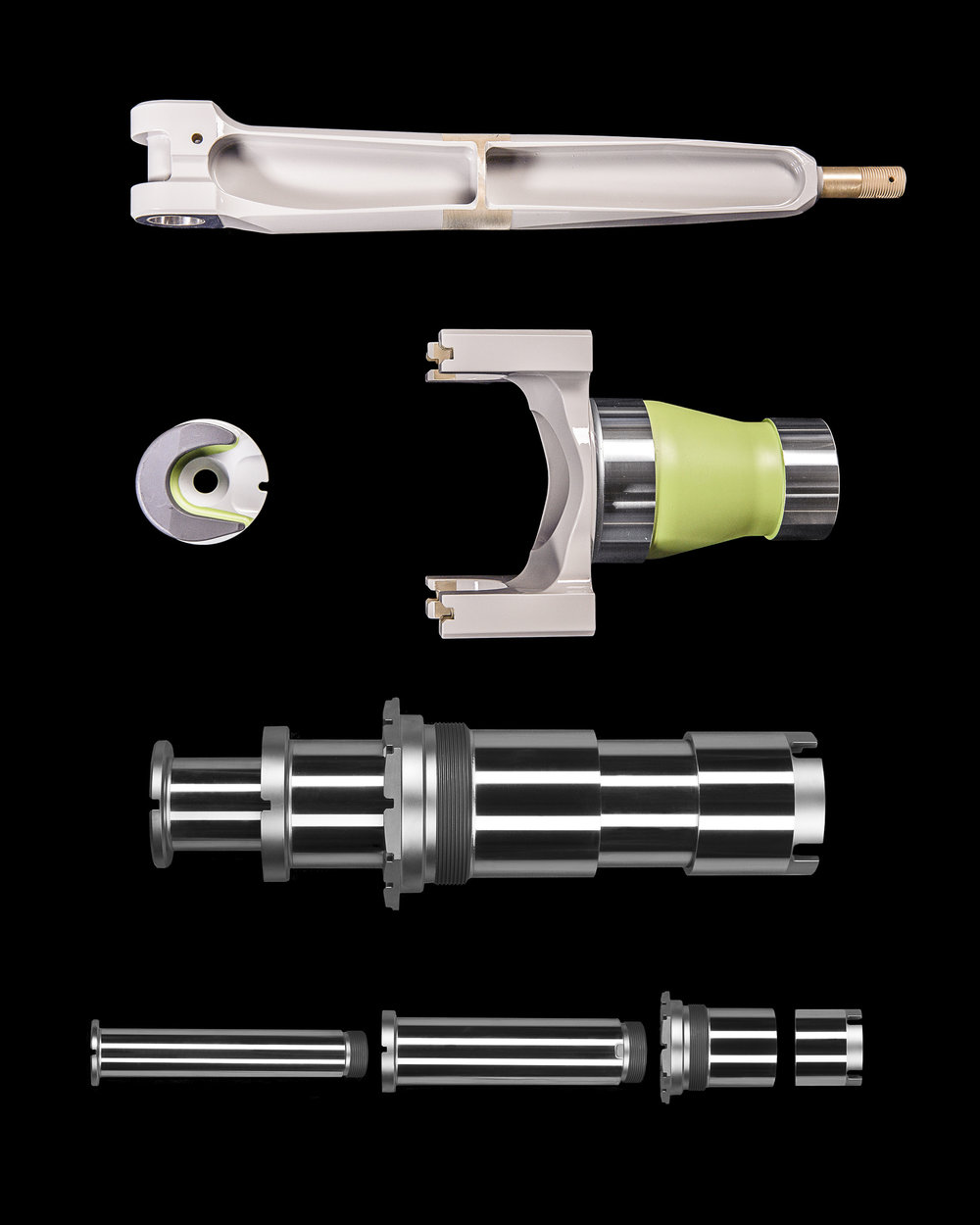 Chrome Plated Pins, Sleeves, Spindles, and Gimbals