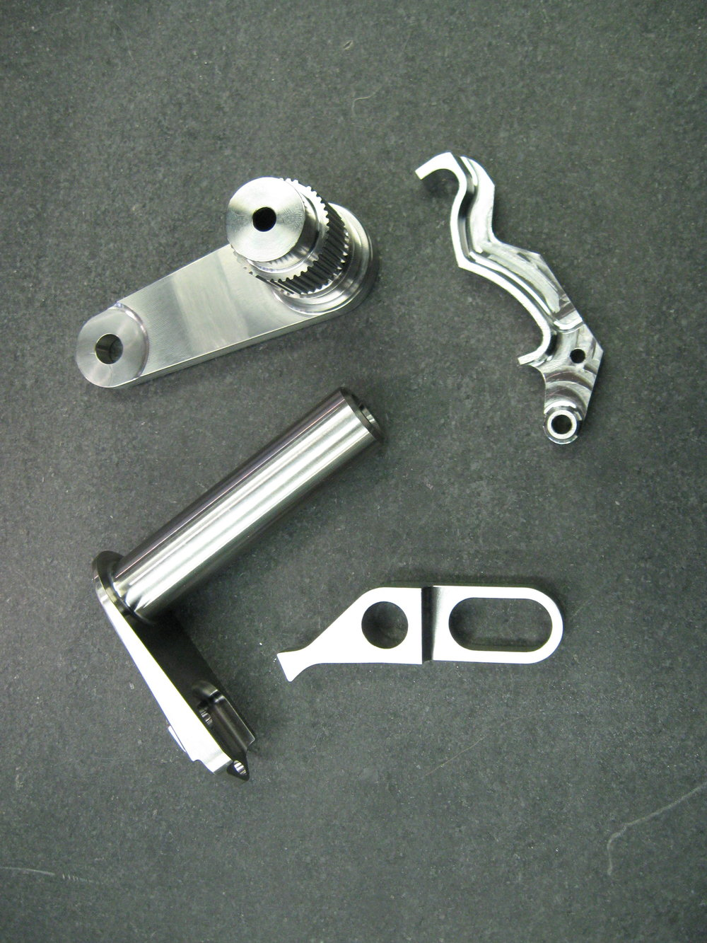 Titanium Door Components