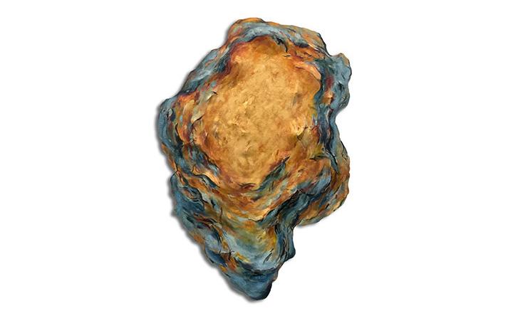 Untitled (Orange and Blue)