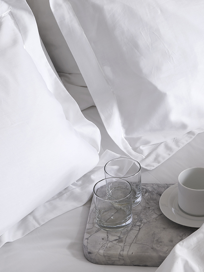 Bed Linens - Everything from comforters and duvets, to bed sheets, pillow cases and shams, and so much more. Customize every detail, down to the stitch, to create a distinguishing look with your bed linens. Browse by our different collections, or simply by product type.
