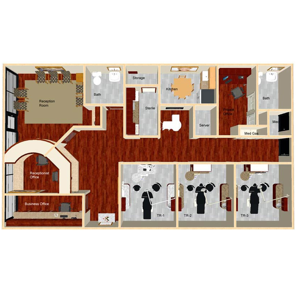 Giancarlo Studio Furniture Custom Medical Funriture Solutions Engineering Floor Plan.jpg