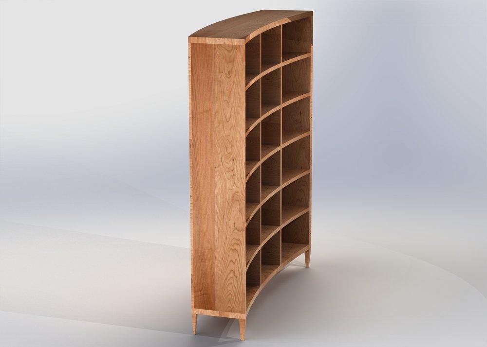 Diana_Mercado_Curved_Wall_Bookshelf_Cherry_3.JPG