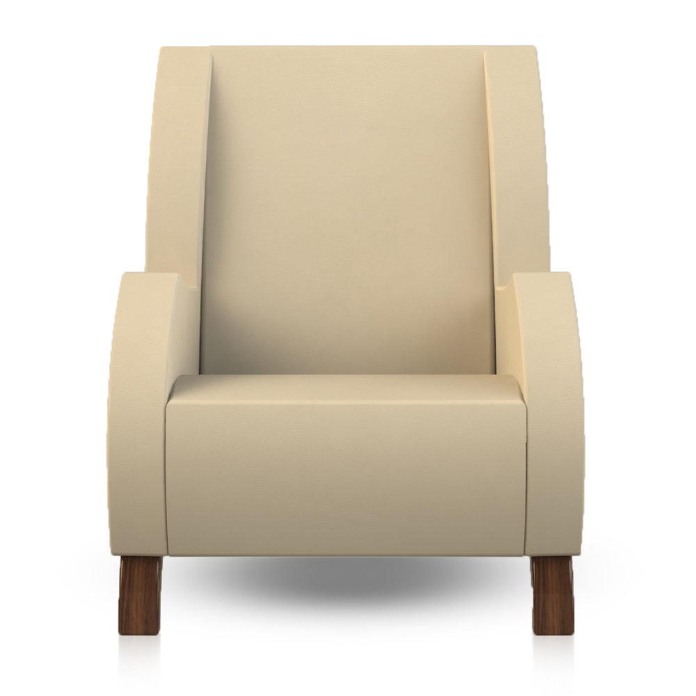 Giancarlo Studio Furniture Lydig Lounge Chair Couch Arm Walnut Wood_5.jpg