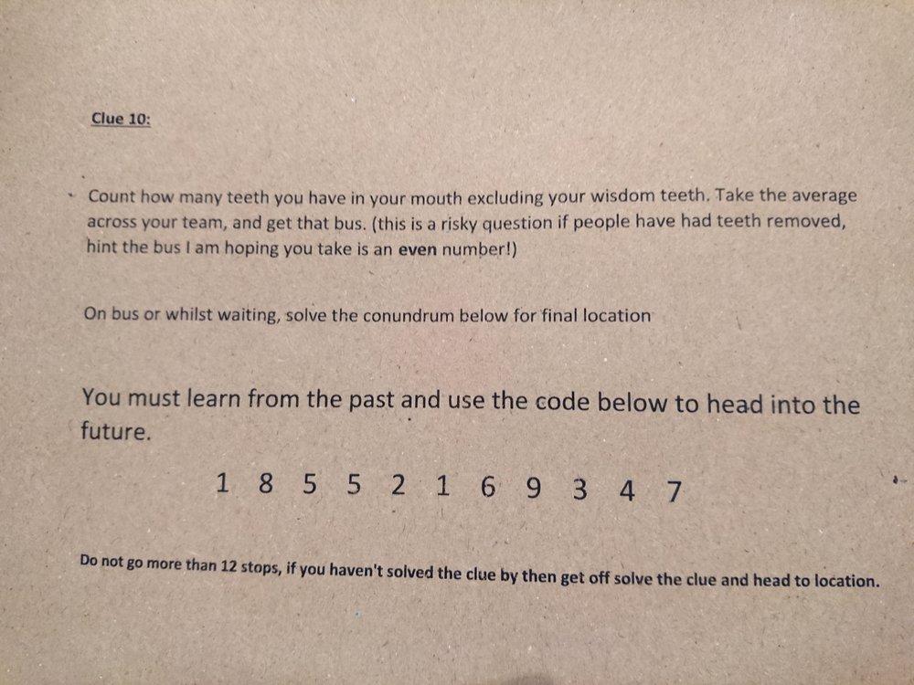 Clue 10