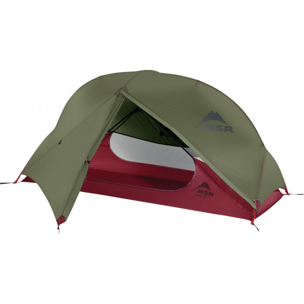 Tent – MSR Hubba NX 1  - Choosing a tent was surprisingly hard, the 3 things I was looking for in the tent were a small pack size, lightweight, and that I could sit upright in it. When I stumbled across this tent, it seemed the best for me in terms of weight, packed size and interior space. It is also easy to erect, and after only 2 tries I am already below 8 minutes, and I am sure by the end of the walk it will take me less than 5 minutes.(Christmas and Birthday present from my Dad and Brigitte)