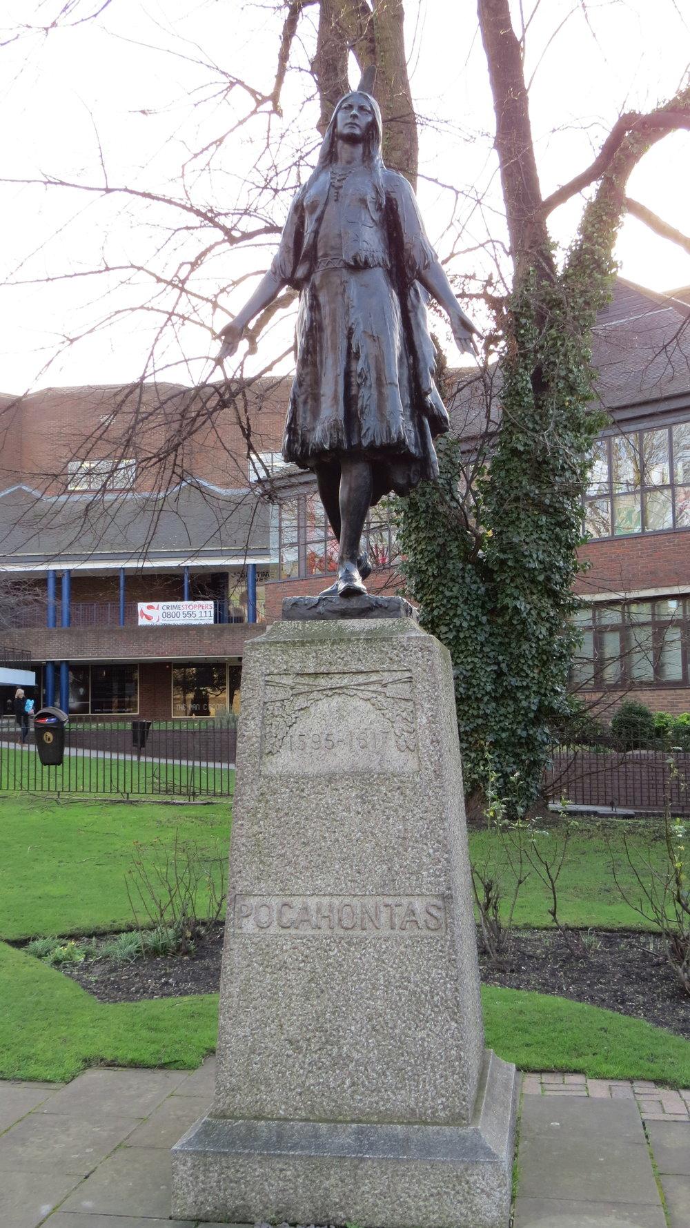 Pocahontus Statue