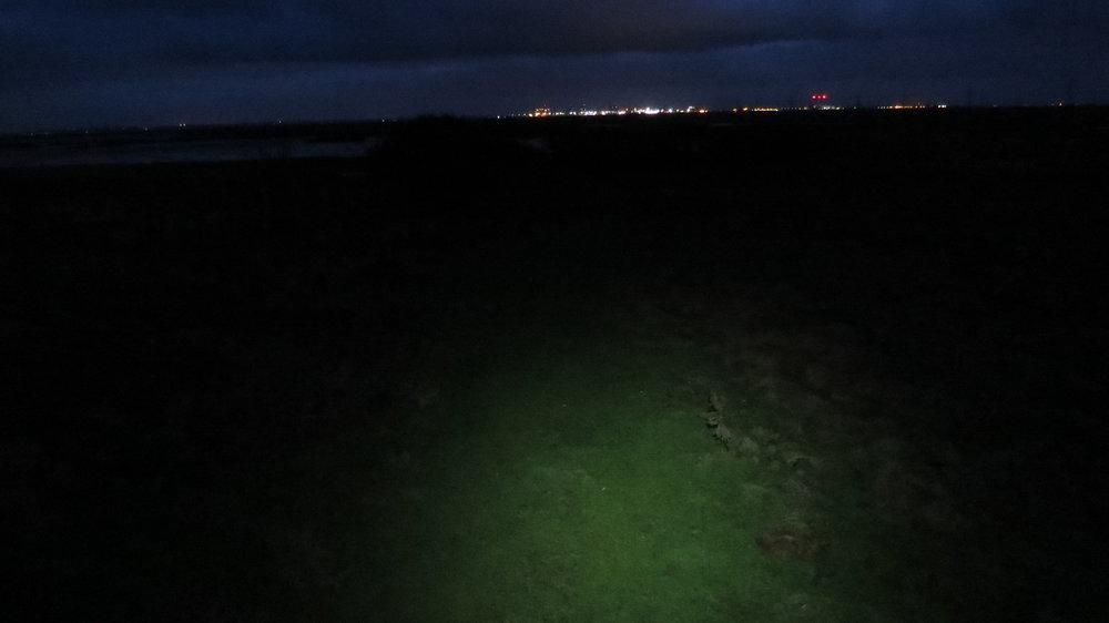 Navigating in dark
