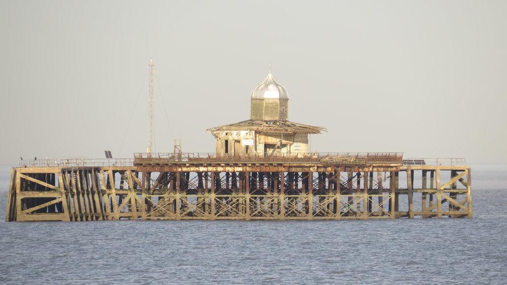 Original end Herne Bay Pier