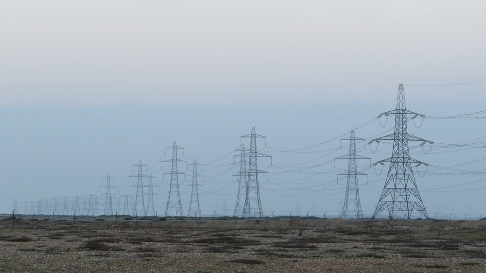 Pylons Marching