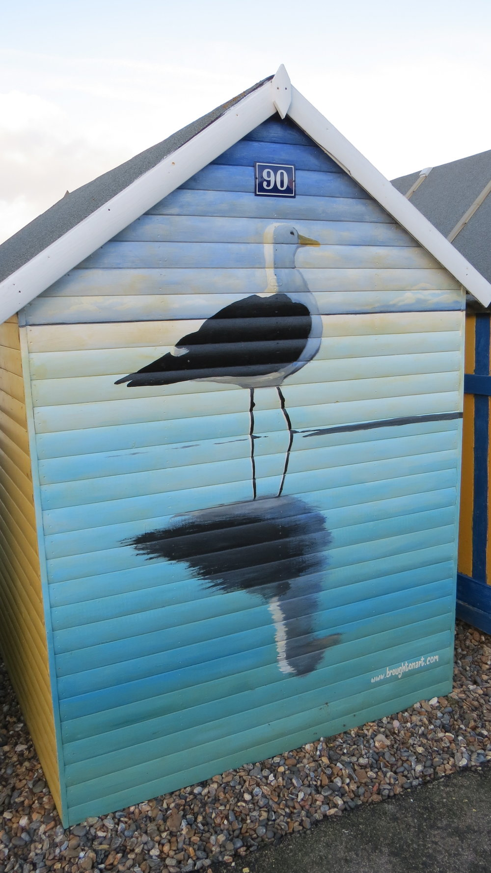 Beach Hut Art