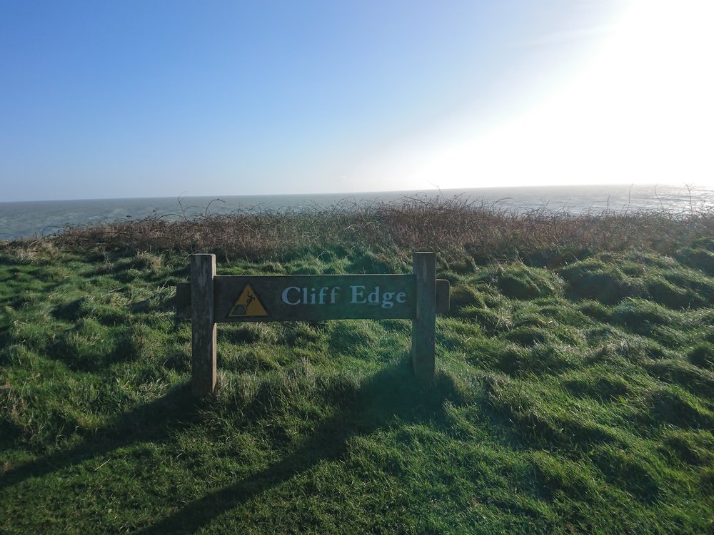 Cliff Edge Warning