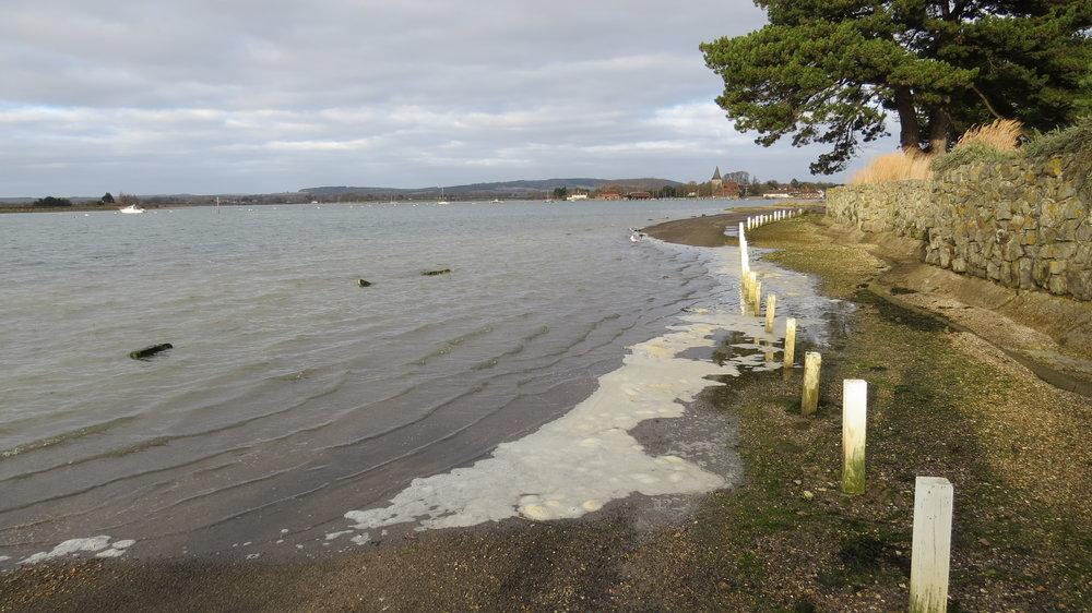 Tide coming in Bosham