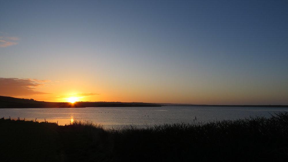Sunrise near Fleet