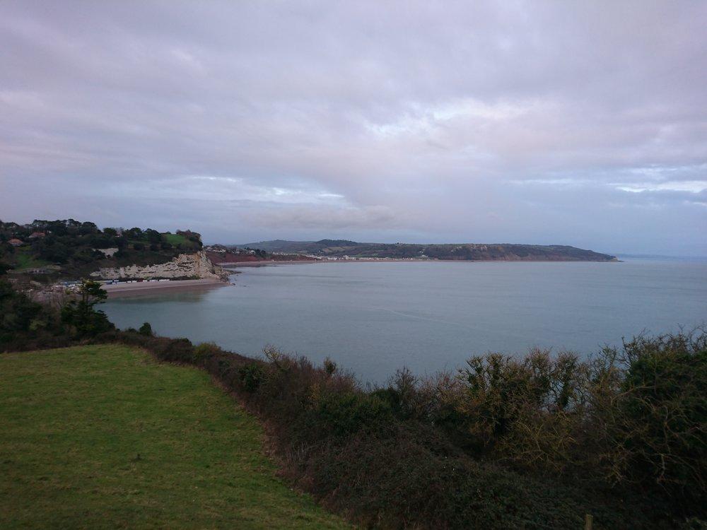 Cliffs near Beer