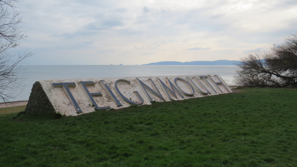 Teignmouth Sign