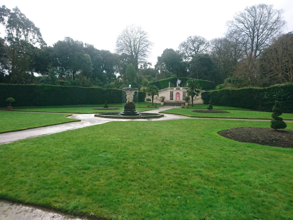 Edgcumbe Orangery Garden