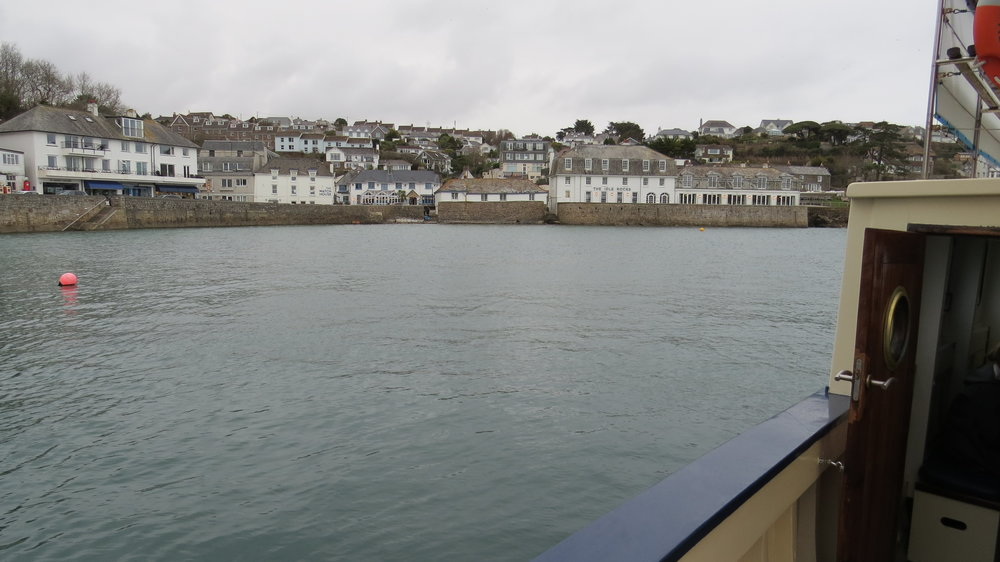 St Mawes from the Ferry