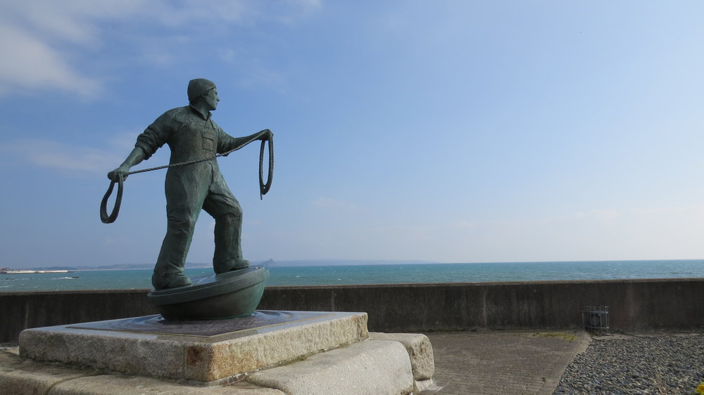 Fishermen Memorial Statue