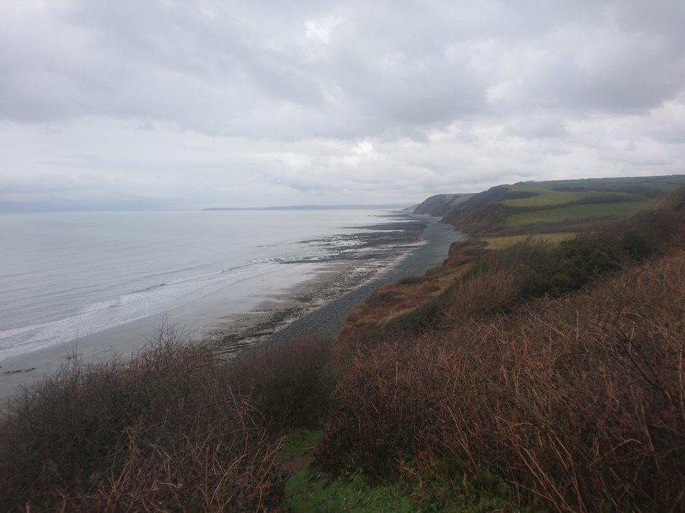 Babbacombe Cliff