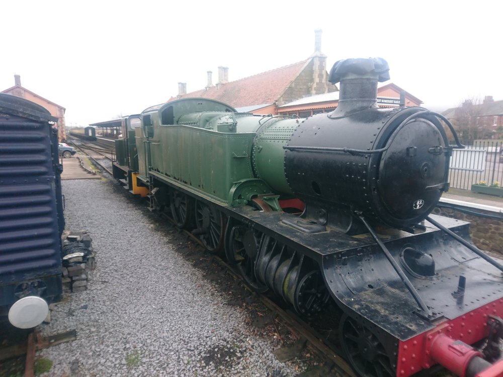 Steam Train Minehead
