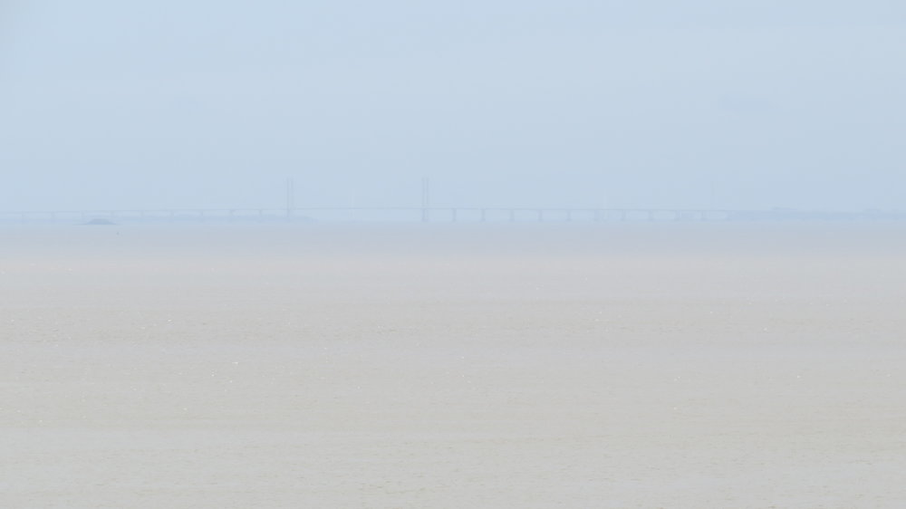 Severn Bridge in Haze