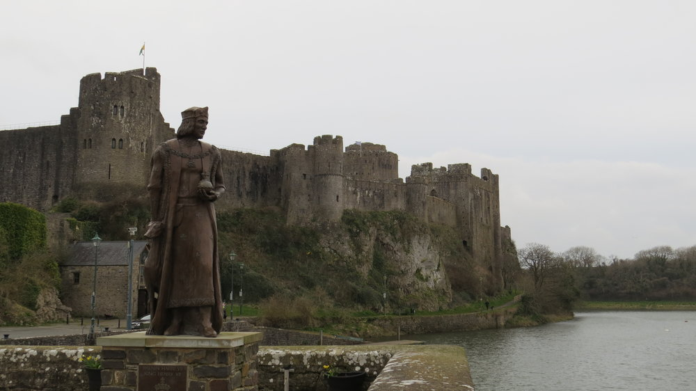 Henry VII at Pembroke Castle