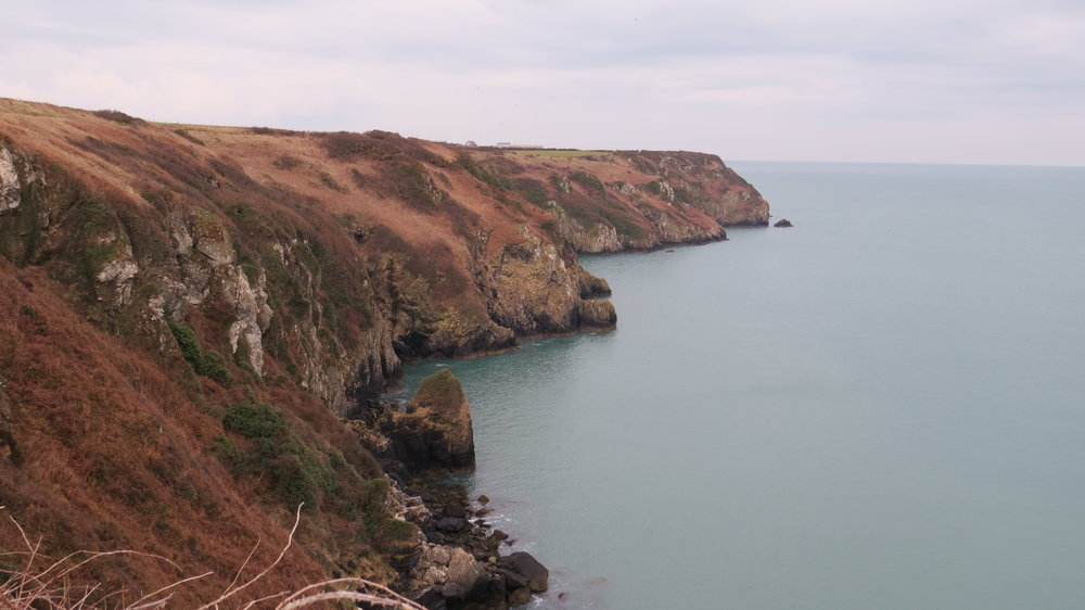 Sloping Cliffs