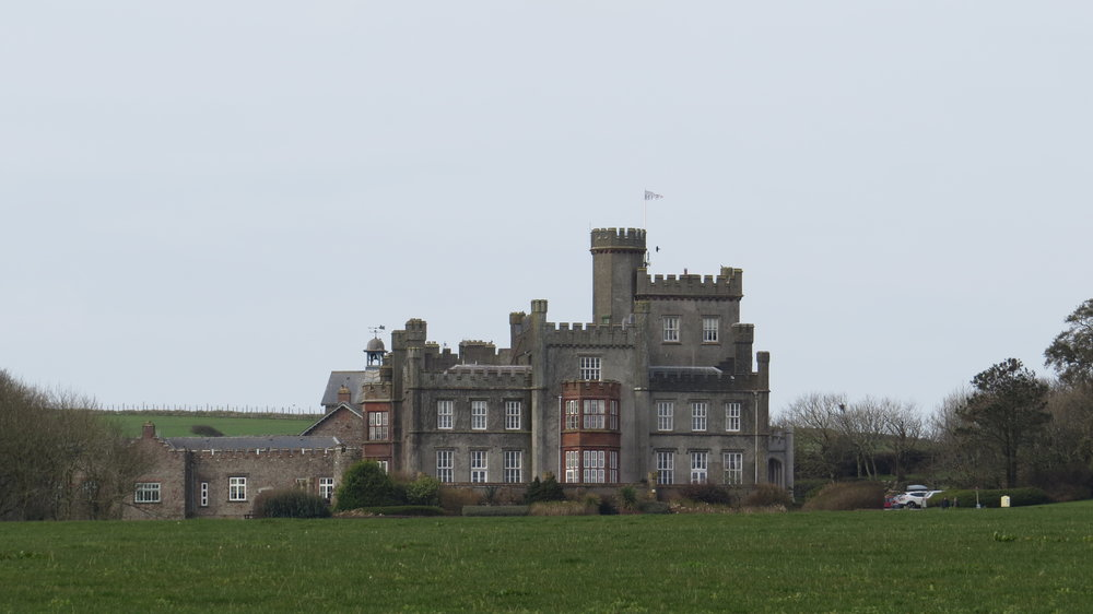 Castle in St Brides