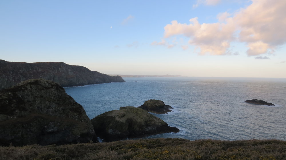 View from Porth Maenmelyn
