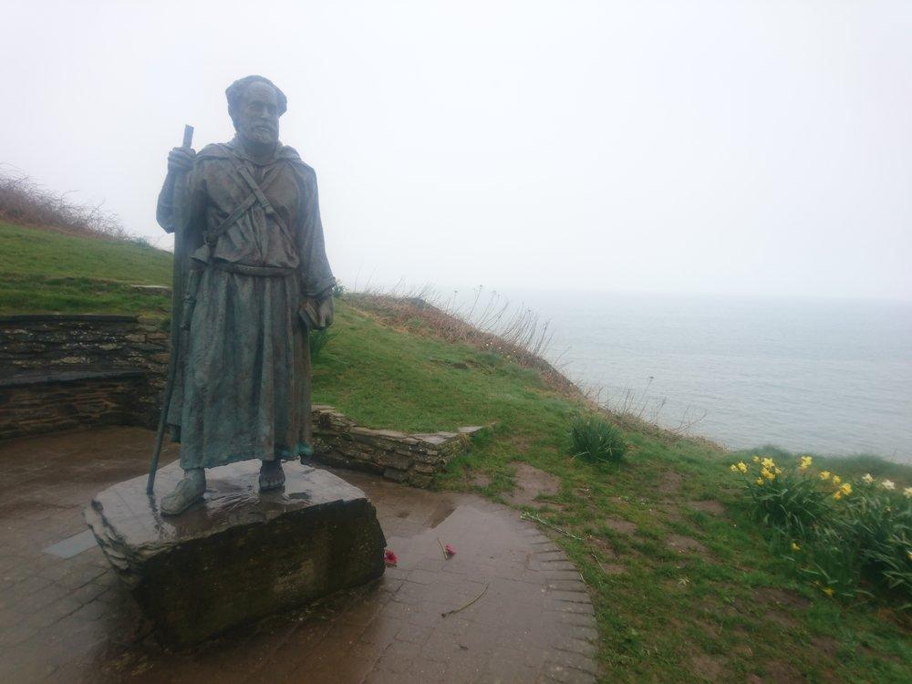 St Crannog Statue