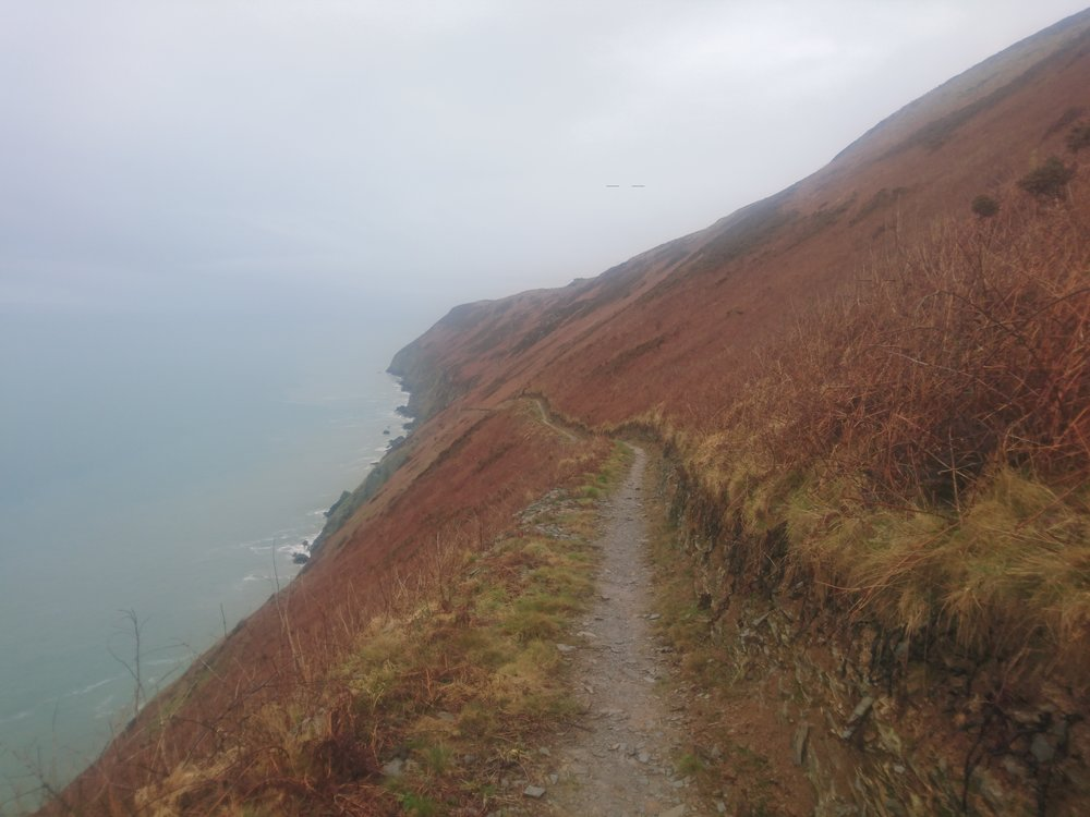 Path Clinging to Cliff