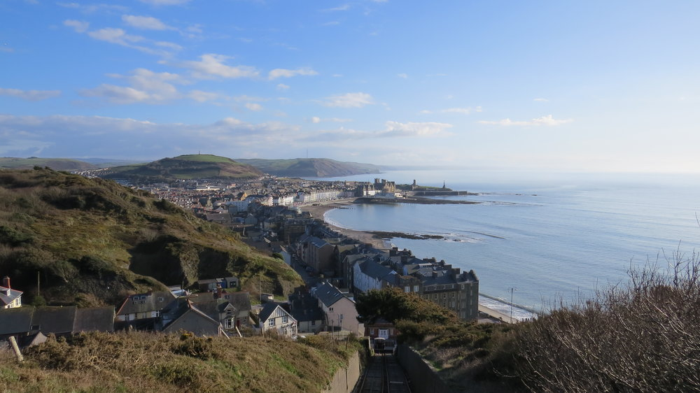 Looking Back to Aberystwyth