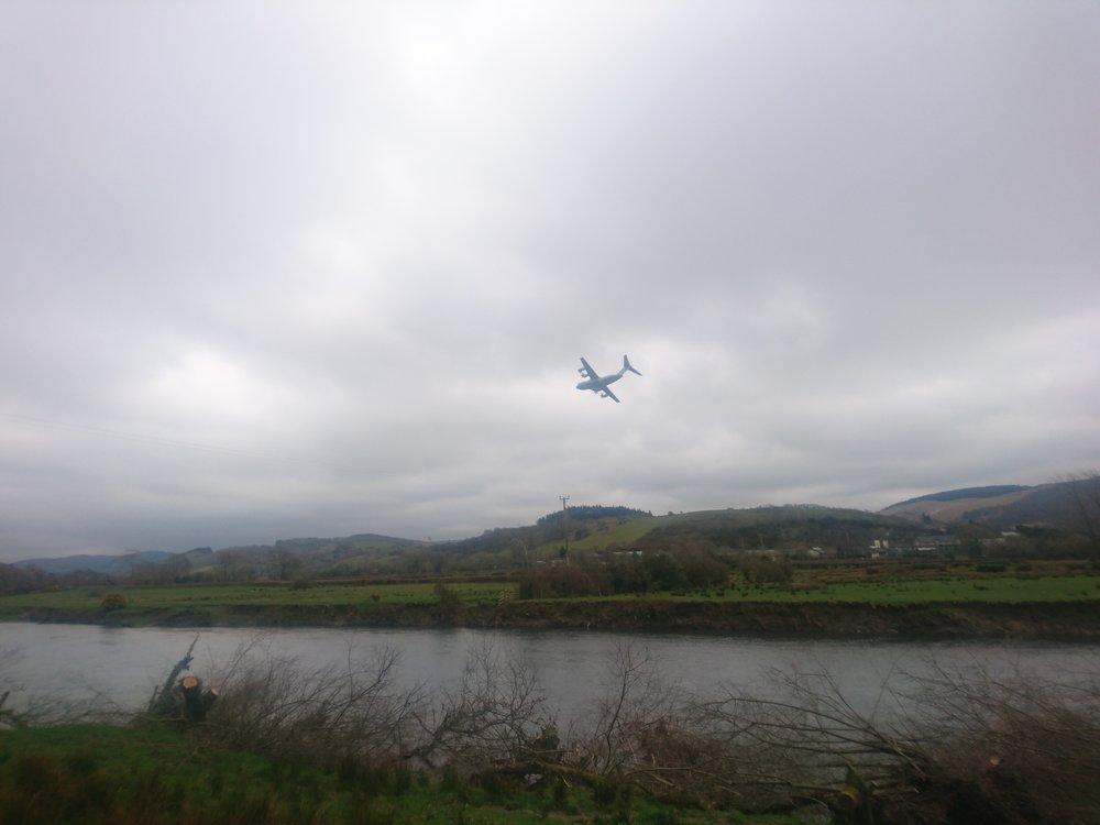 Low Flying 'Hercules?'