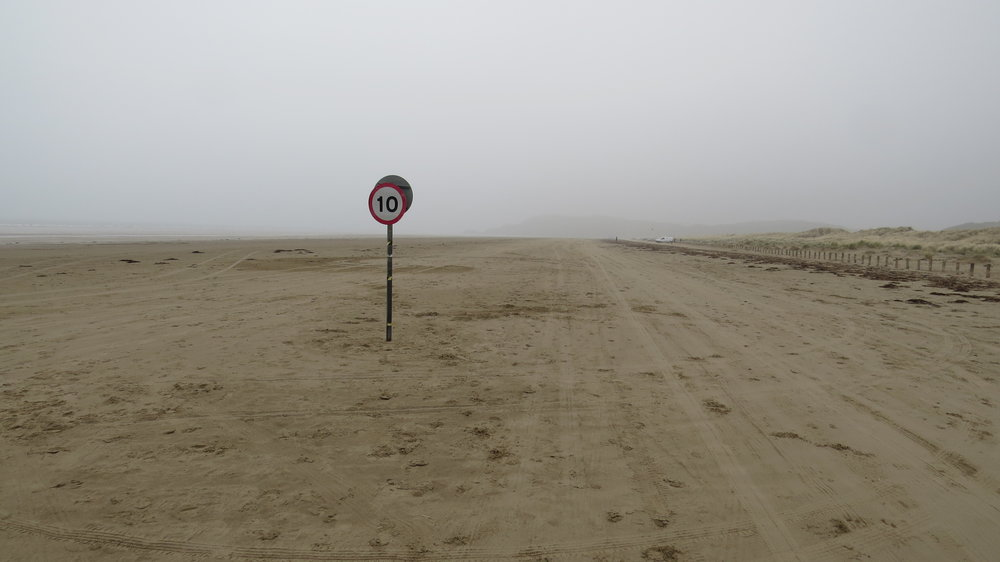 Speed Limit on Beach