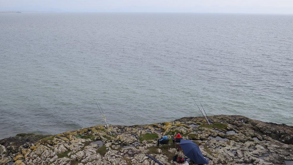 Fishermen Relaxing