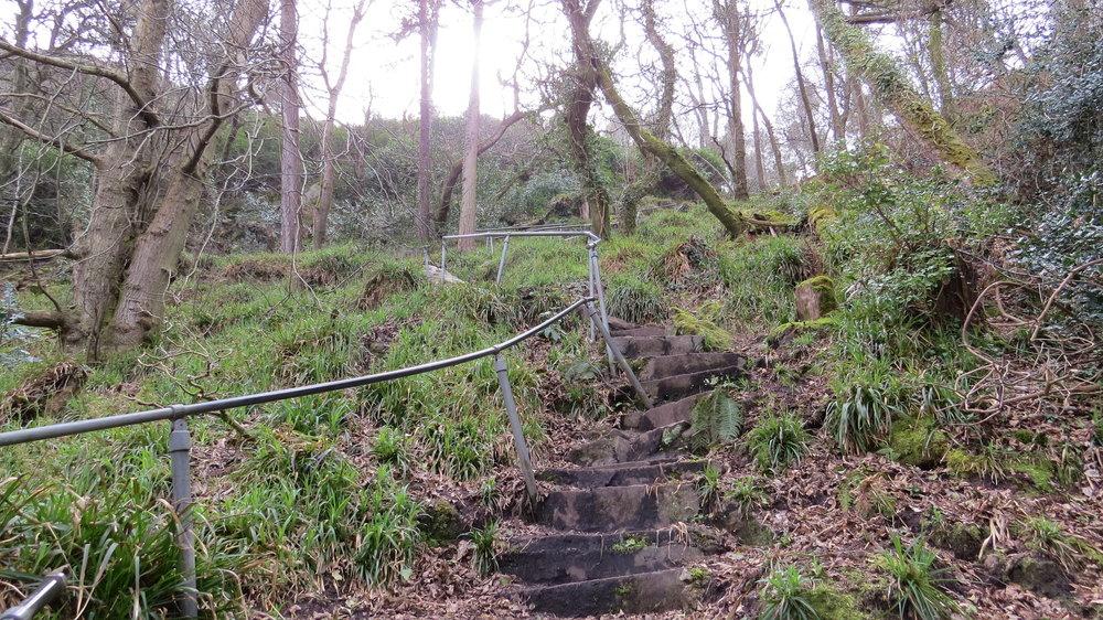 Steep Stairs Llanbedrog
