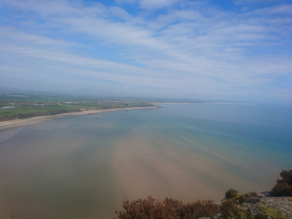 View from above Llanbedrog
