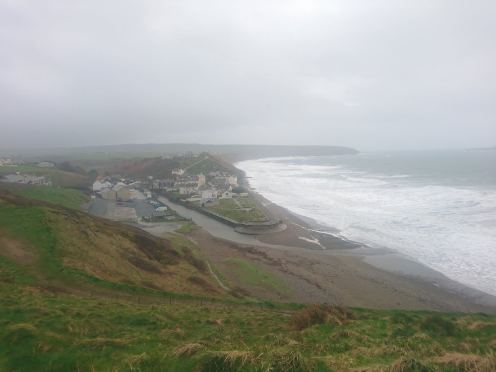 Looking back to Aberdaron