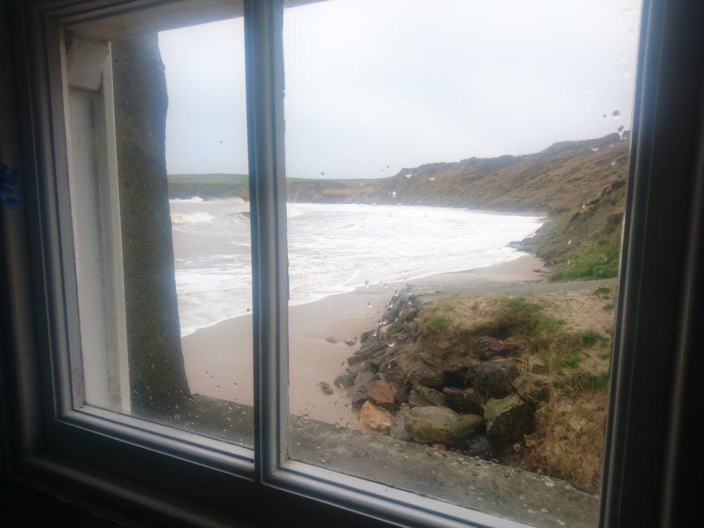 Whistling Sands from Cafe