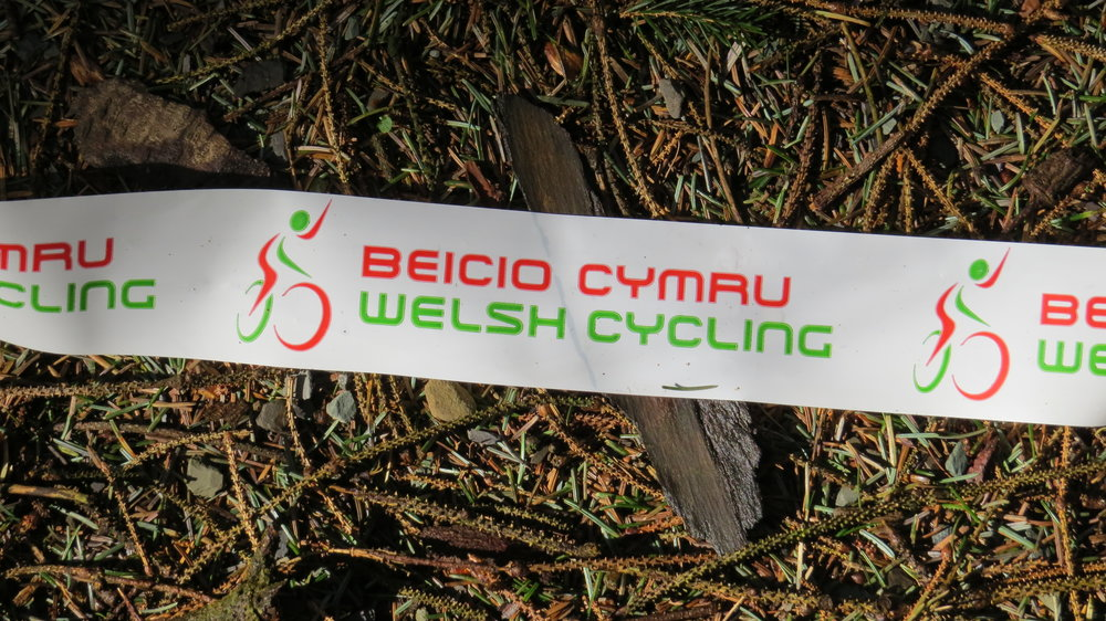 Welsh Cycling Course Marker