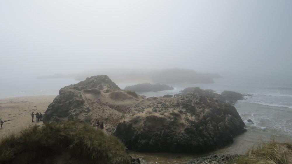 Llanddwyn Island in Mist