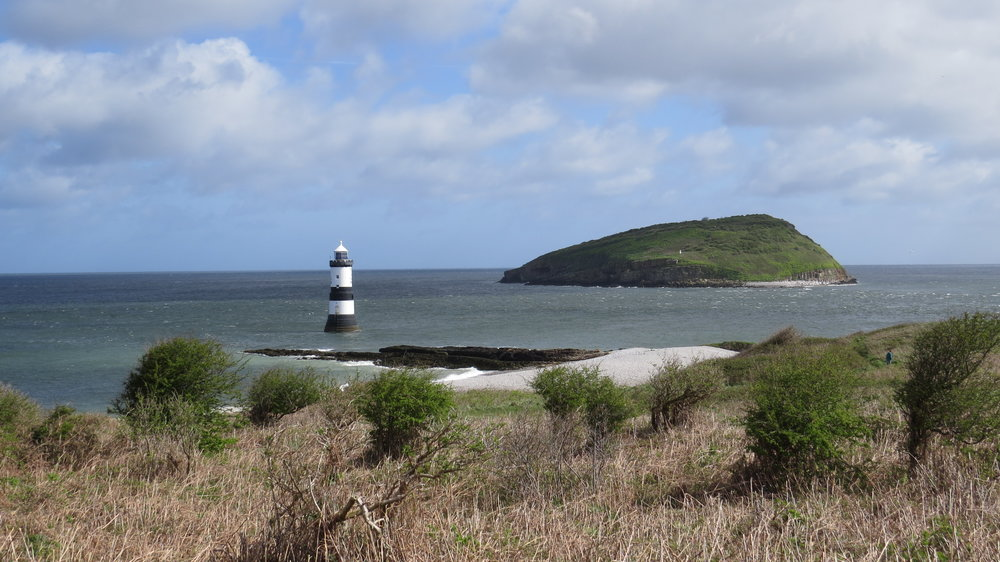 Penmon Lighthouse & Puffin Island