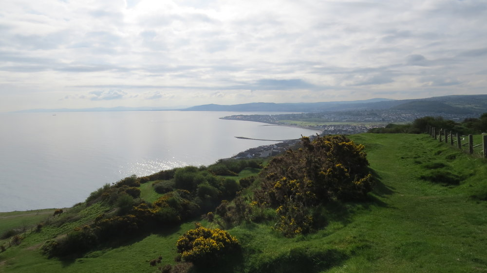 View from Little Orme