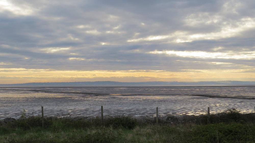 Sunrise over River Dee