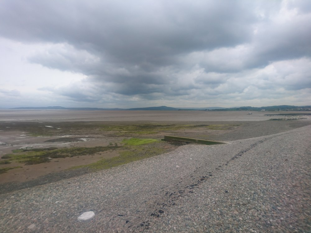 Moody Skies from Morecambe