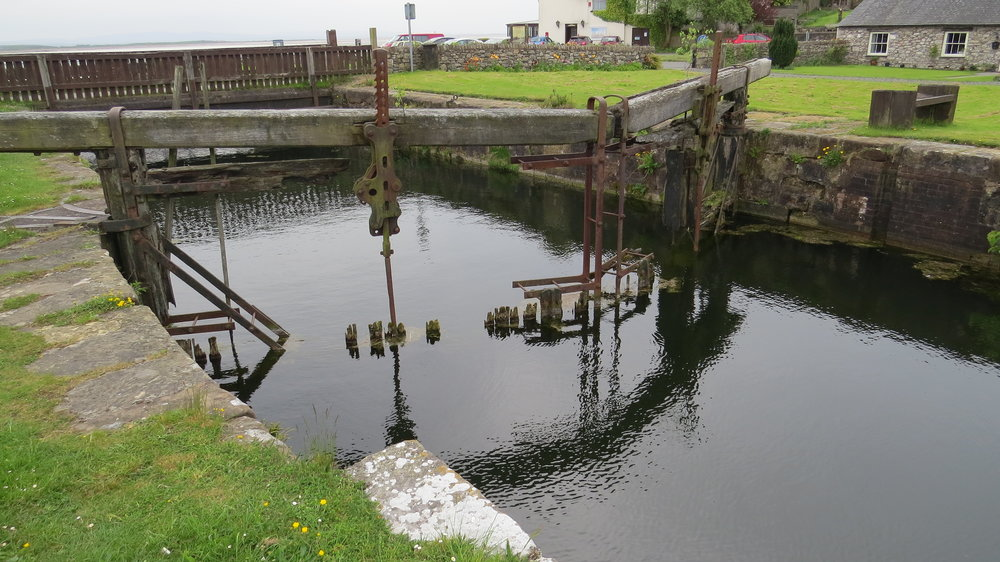 Canal Foot Lock Gate