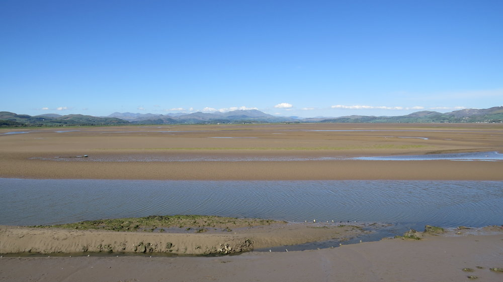 Looking back over Duddon Sands
