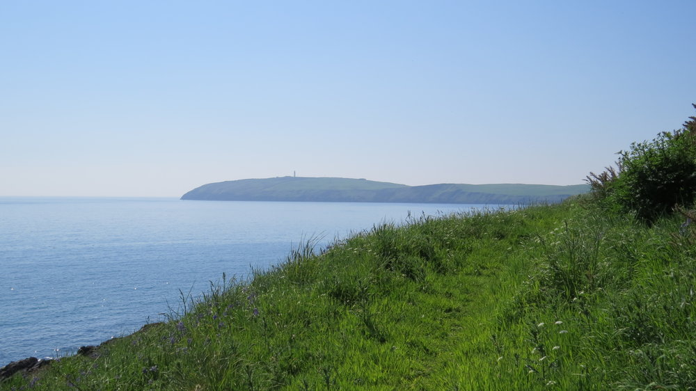 Mull of Galloway in Distance