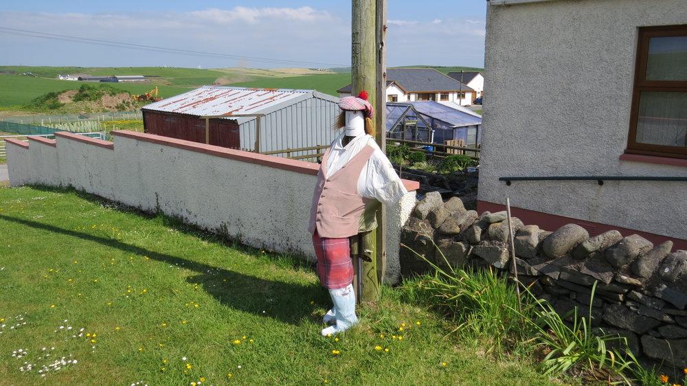 Scottish Scarecrow